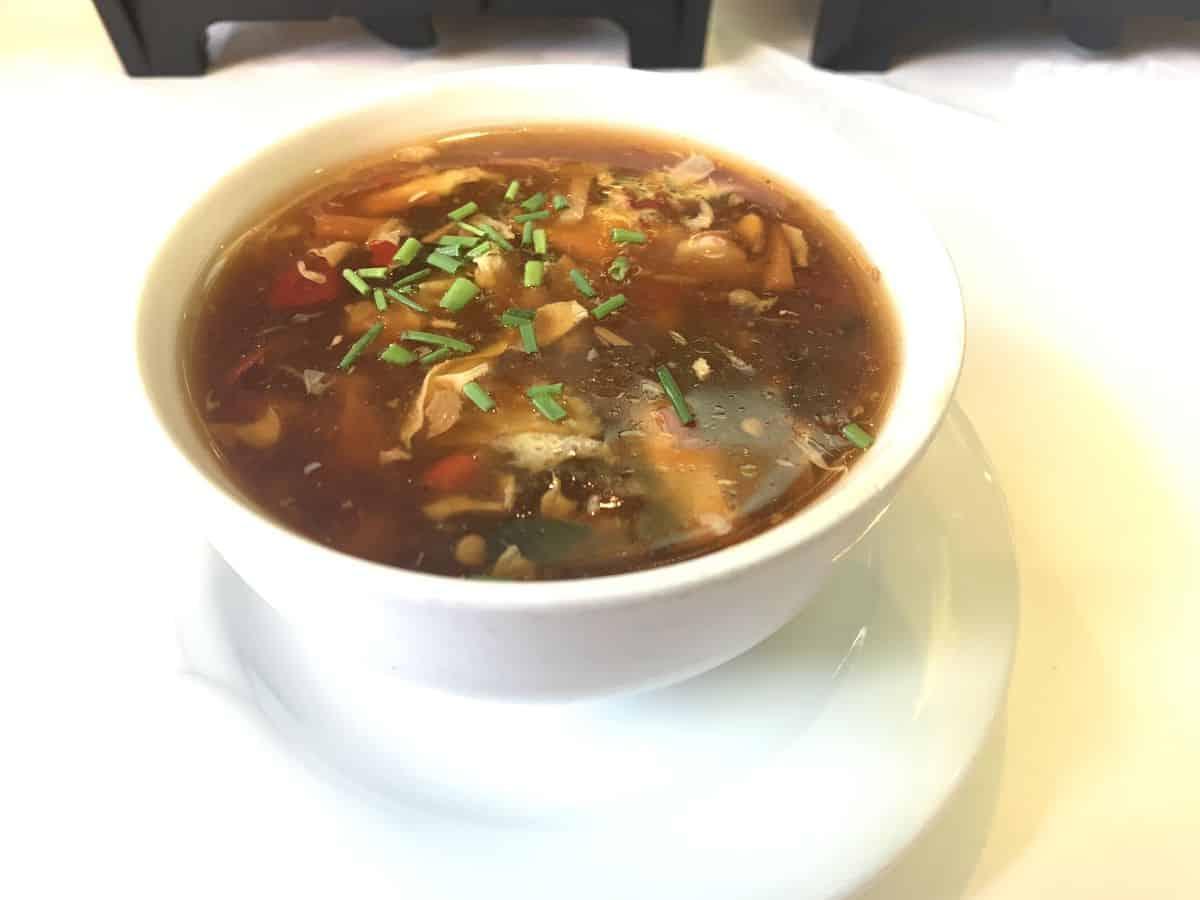 scharfe chinesische suppe